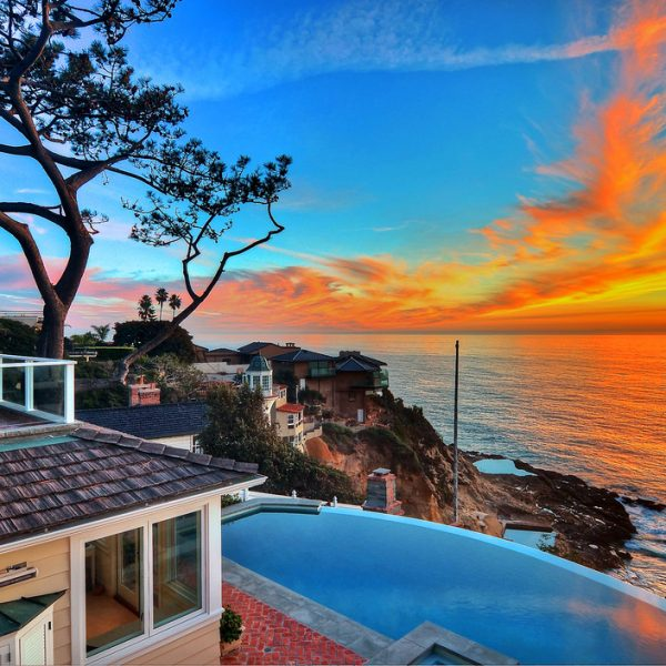 Ocean Front homes in South Laguna Beach for sale and rent
